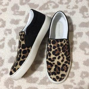 Marc Fisher Calie Leopard Slip-On Sneaker